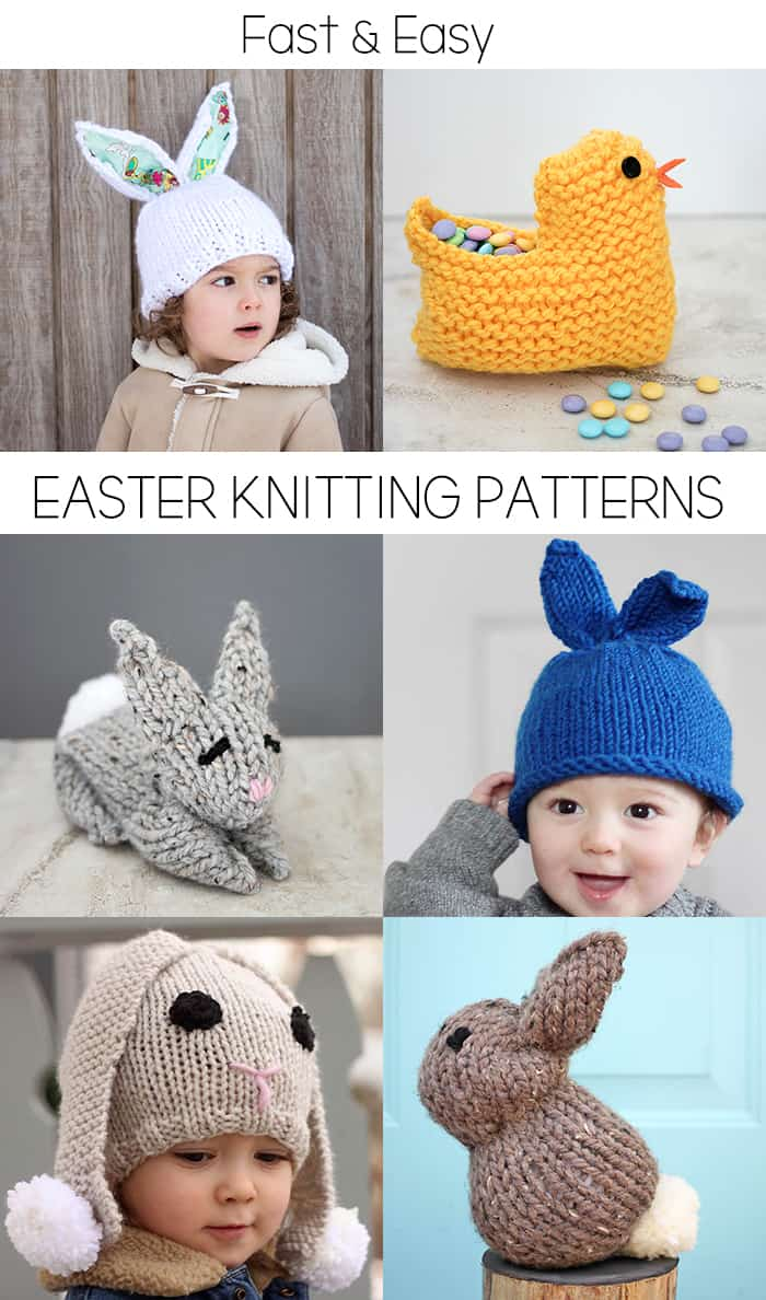 Free Easter Knitting Pattern