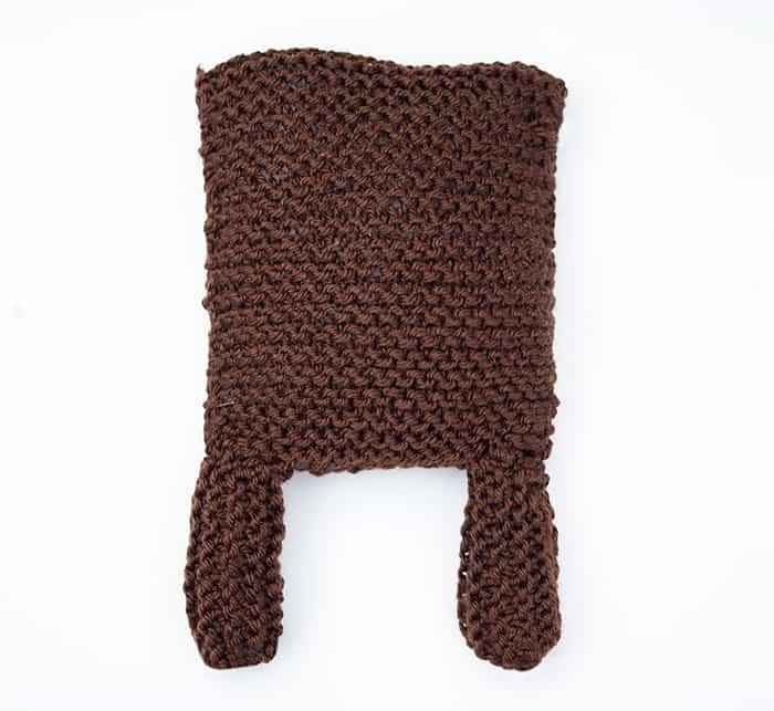 Square Bear Knitting Pattern