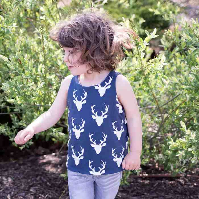 How to Sew a Reversible Kid's Tank Top