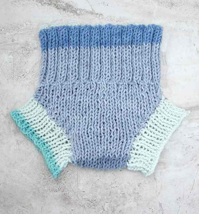 Easy Diaper Cover Knitting Pattern