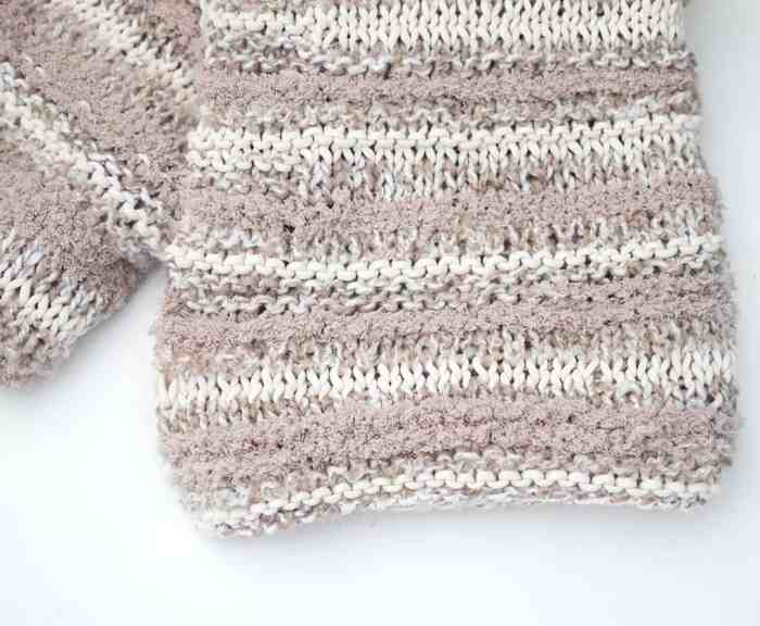 Easy Baby Blanket Knitting Pattern Gina Michele