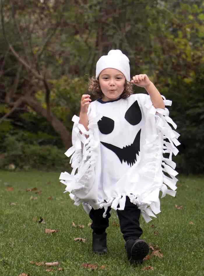 Kid's Ghost Costume DIY