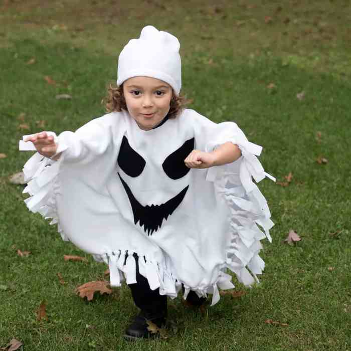 Child Ghost Costume DIY