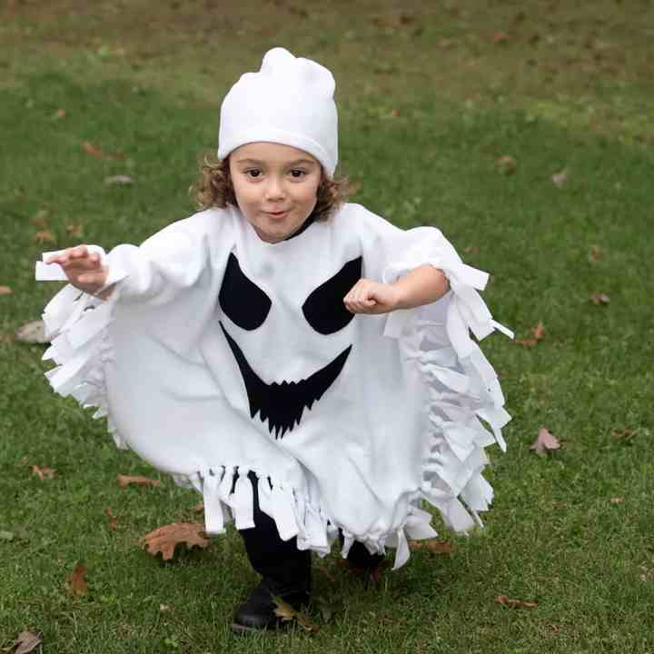Child Ghost Costume DIY