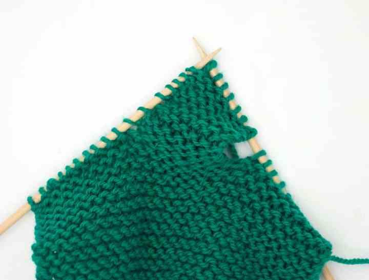 Garter Stitch Booties Knitting Pattern