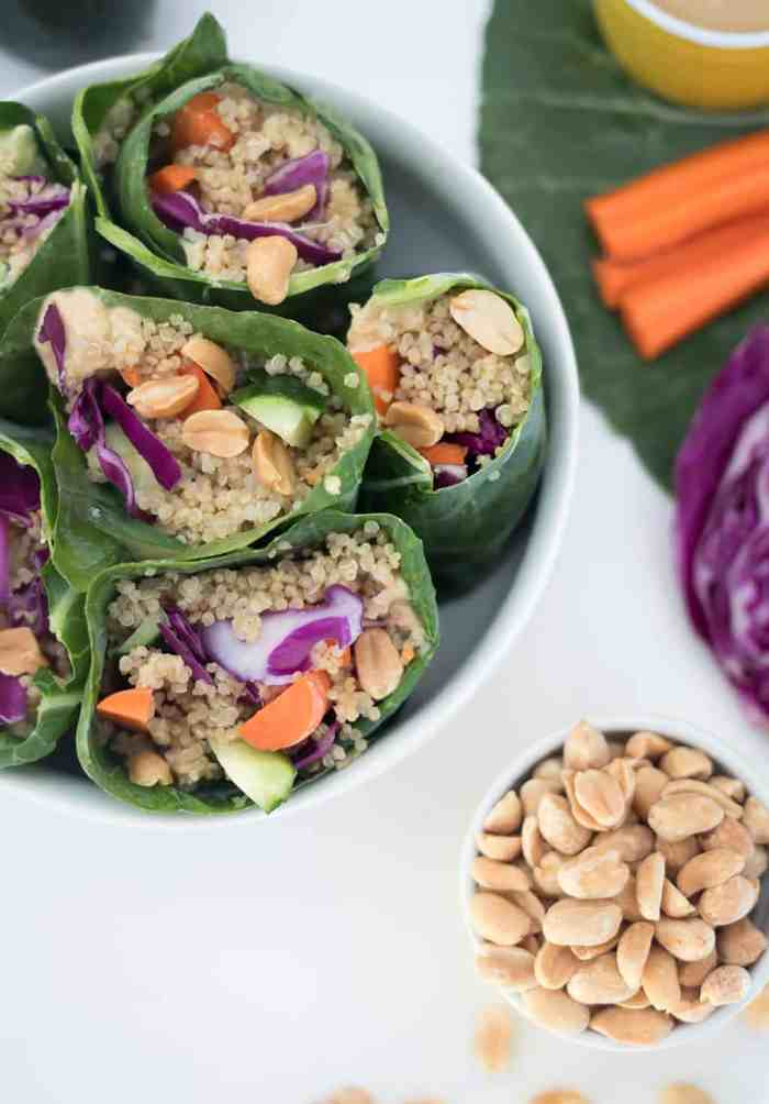 Vegan Rainbow Wraps