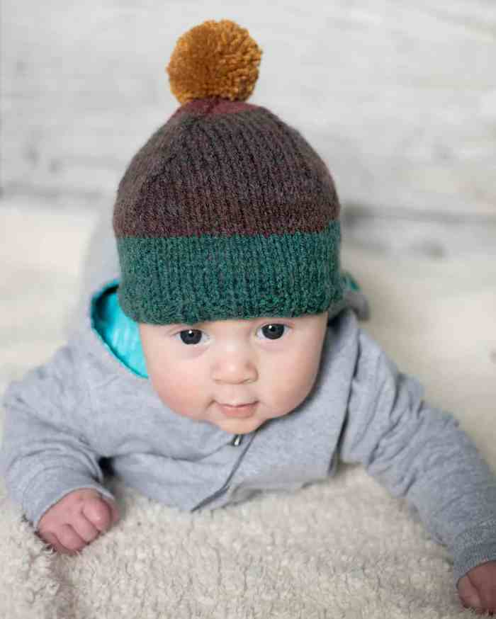 Baby Pixie Hat Knitting Pattern
