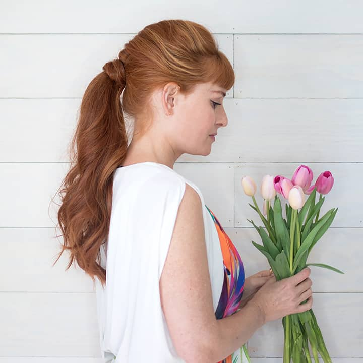 Easy Twist Ponytail Video Tutorial