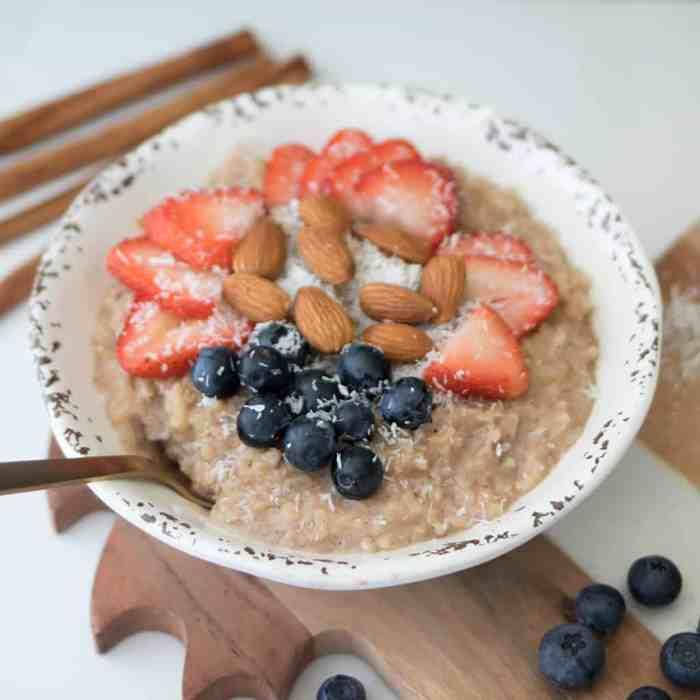 Easy Vegan Brown Rice Pudding