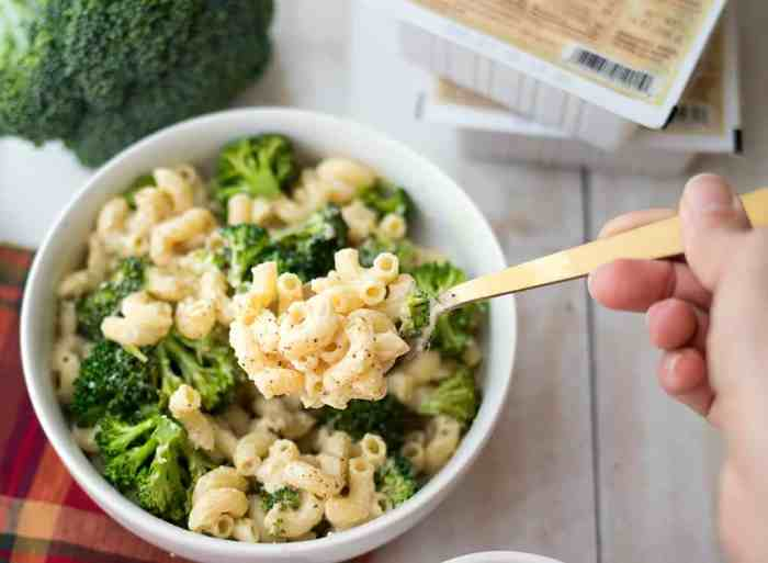 "Vegan Broccoli Mac & ""Cheese"""