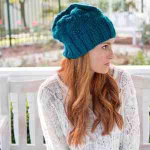 Slouch Hat Free Knitting Pattern