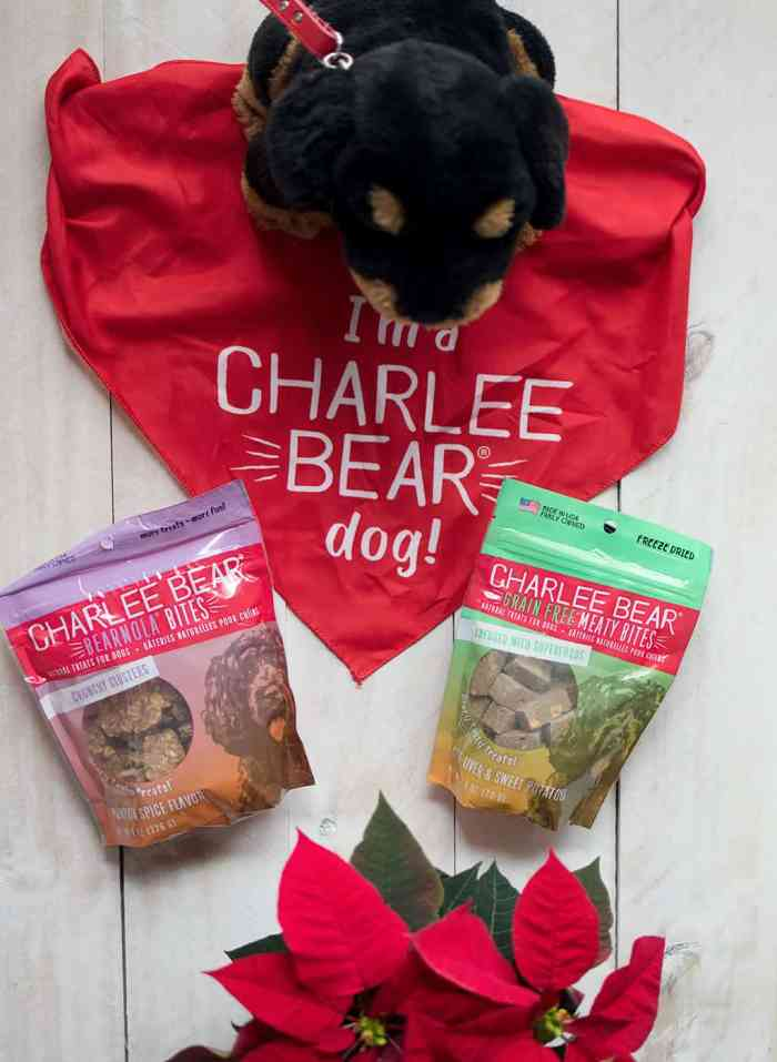 Dog Treats from Charlee Bear