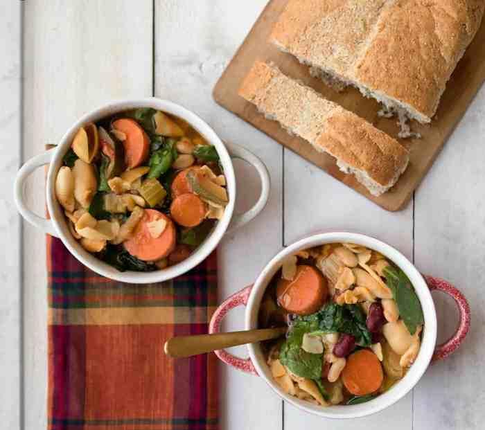 Instant Pot Vegan Minestrone Soup