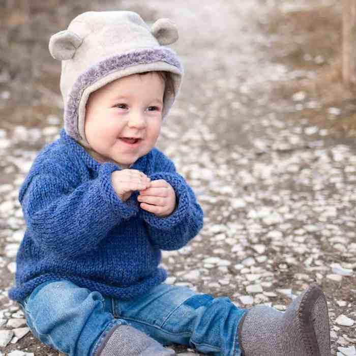 Easy Baby Sweater Knitting Pattern