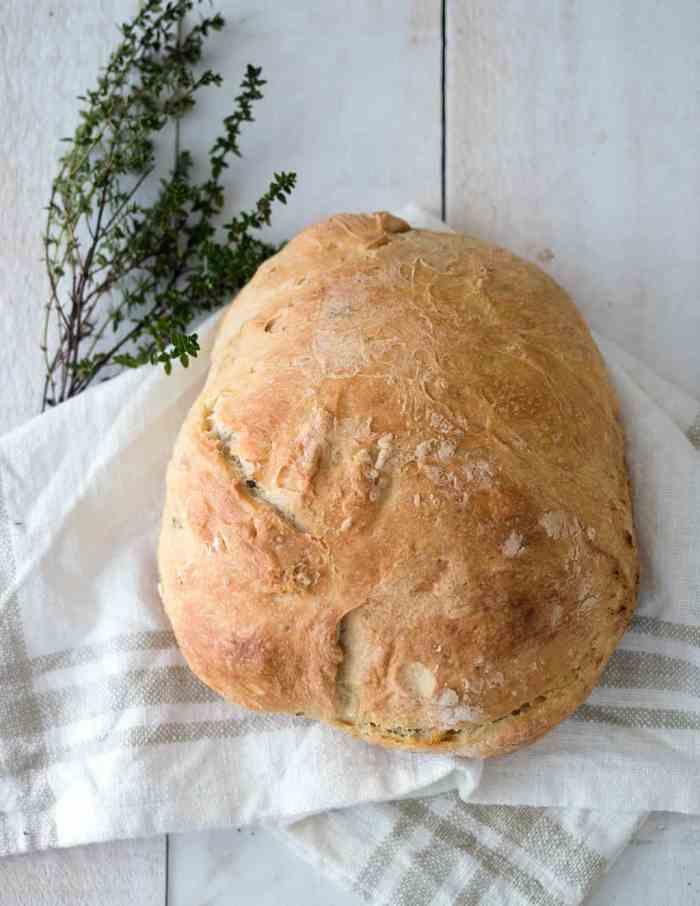 Instant Pot No-Knead Bread