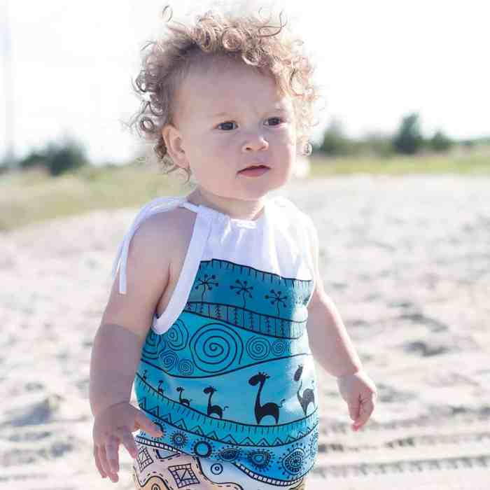 How to Make a Baby Romper out of a T-Shirt