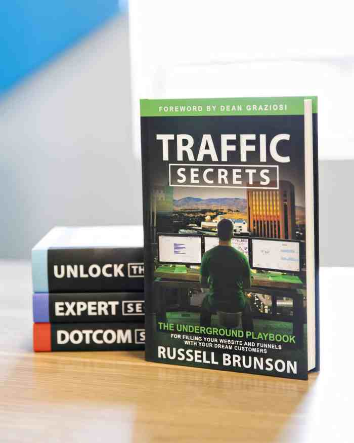 Growing my Blog with Traffic Secrets by Russell Brunson