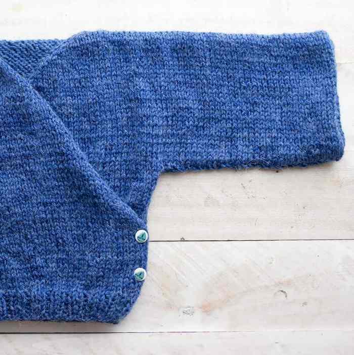 Baby Kimono Sweater Knitting Pattern