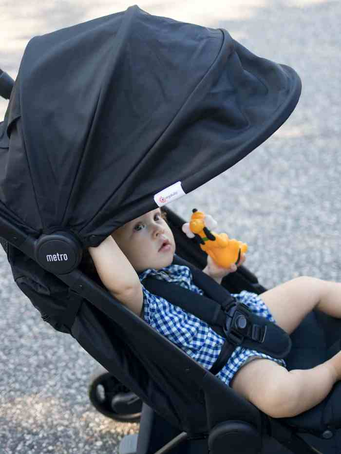 Weekend Staycation with the Ergobaby Metro Compact City Stroller