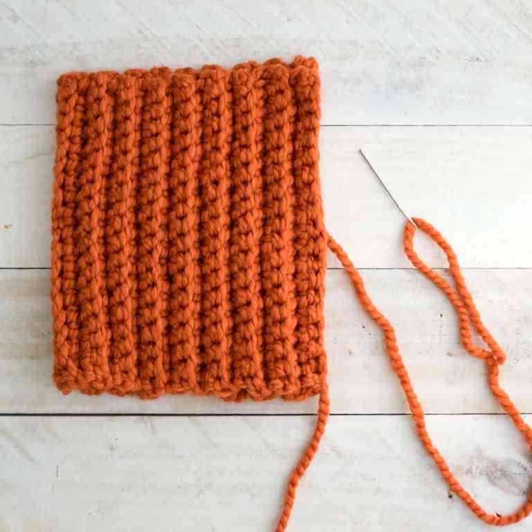 Large Pumpkin Crochet Pattern