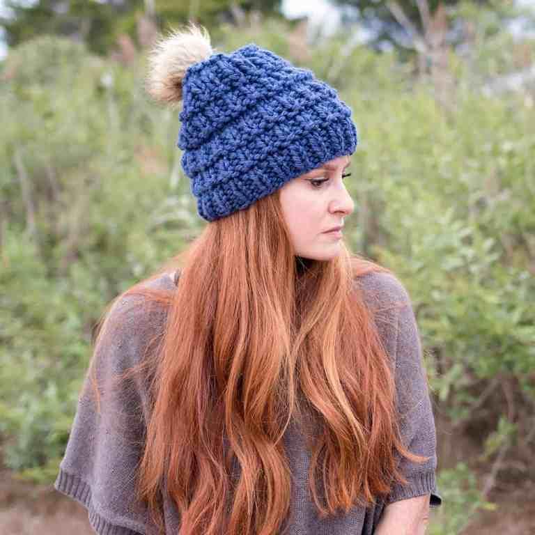 Hurdle Stitch Hat Knitting Pattern