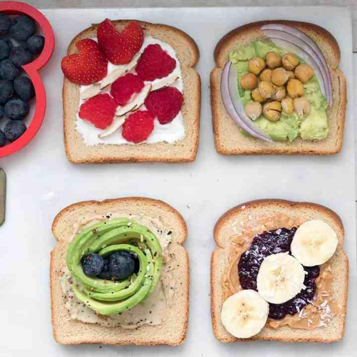 4 Easy Ways to Make Plant Based Toast
