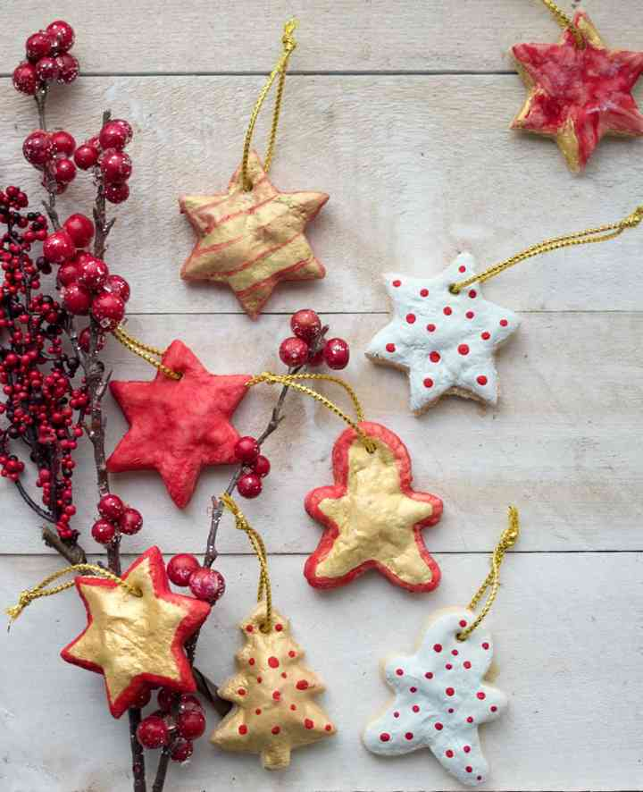 How to Make Scented Salt Dough for Christmas Ornaments
