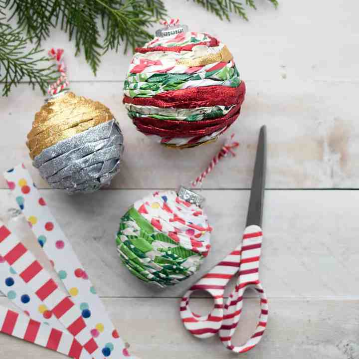 How to Make Twisted Paper Ornaments