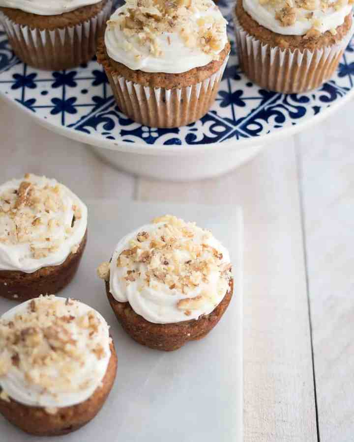 Best Vegan Carrot Cake Cupcakes