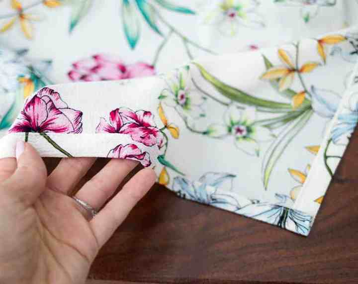 How to Sew a Side Slit Skirt- No Pattern Necessary