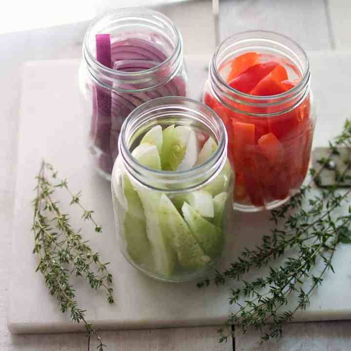 Easiest Way to Quick Pickle Vegetables