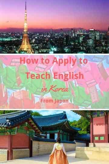apply teach korea overseas