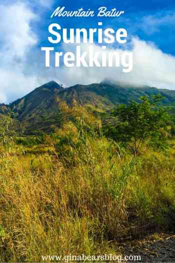 mountain batur sunrise trekking