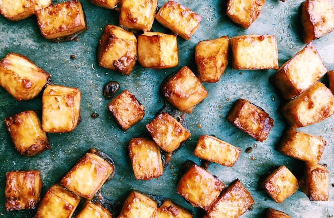 Perfect crispy baked tofu
