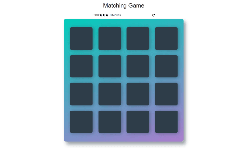 Memory Game Project Udacity