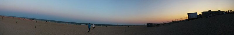 panorama of Coney Island