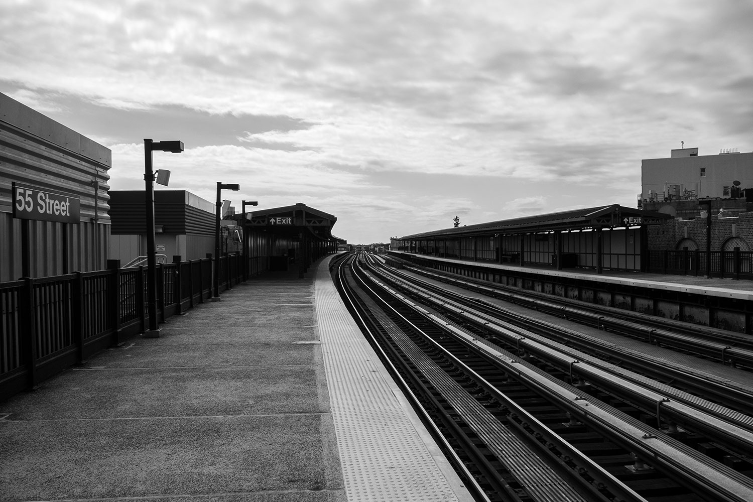 55th Street train station in Brooklyn