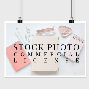 STOCK PHOTO COMMER LICENSE