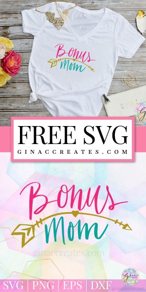bonus mom svg, free step-mom svg