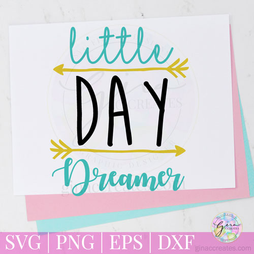 little day dreamer free svg