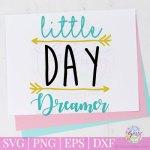 little day dreamer free svg
