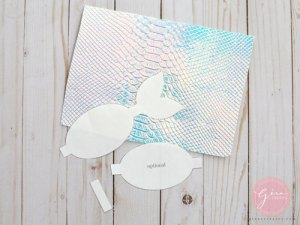 mermaid tail bow tutorial