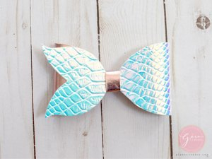 mermaid tail bow diy