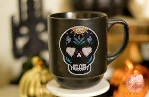 sugar skulls characters mug