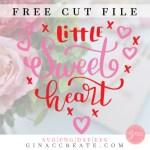 Xoxo Love Valentine S Day Free Svg Cut File Gina C Creates