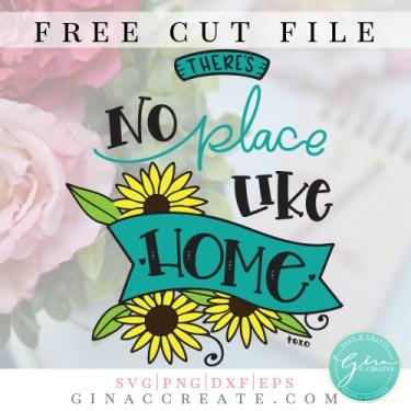 no place like home free svg, cricut files ideas
