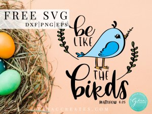 free svg blue bird, christian cricut shirt, don't worry svg
