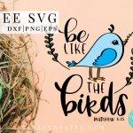 free svg blue bird, christian cricut shirt, don't worry svg