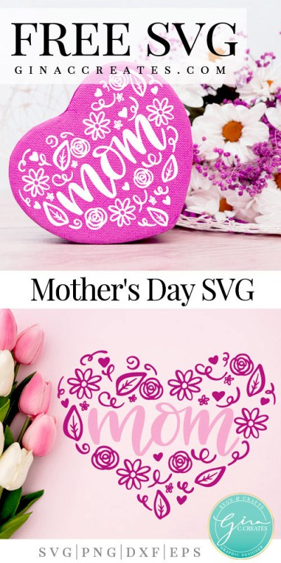 Free This exclusively designed svg cut file is for yearly, lifetime and extended license members only! Mom Heart Free Svg Cut File Gina C Creates SVG, PNG, EPS, DXF File