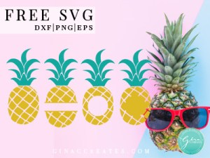 pineapple free svg file